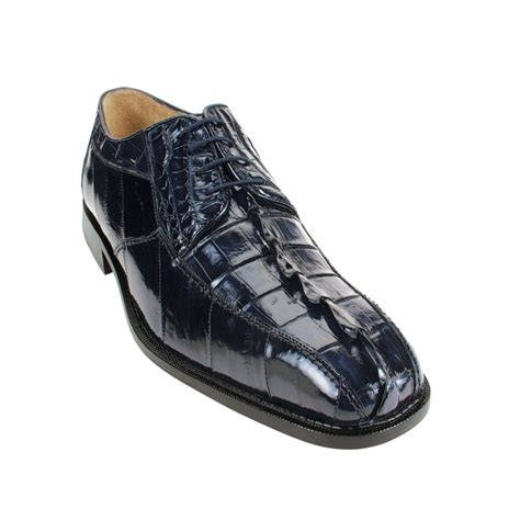 belvedere boots belvedere bruno hornback eel shoes navy