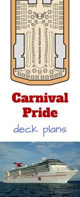 carnival pride floor plan carnival pride deck plans cruise radio