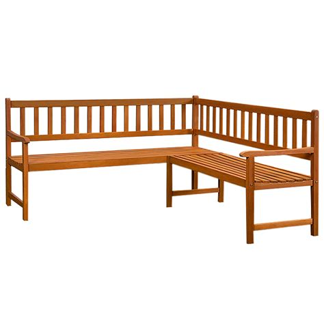 wooden corner bench seating wooden corner bench seat 4 adult garden outdoor terrace