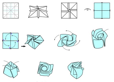 Easy Origami Roses - origami just made for you