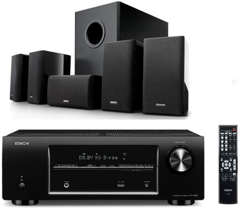 bundle offer denon 5 1 channel avr x500 av surround