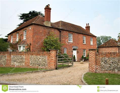 Country Farm House Plans English Farmhouse Royalty Free Stock Image Image 2571956