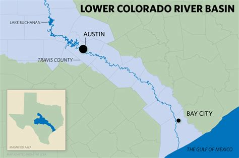 colorado river texas map colorado river texas map my
