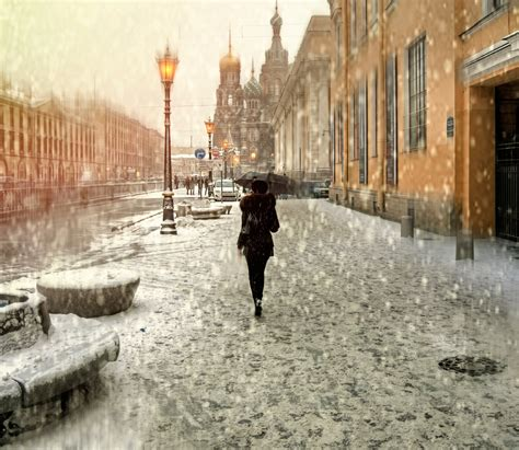 St Snow wallpaper st petersburg russia snow parasol