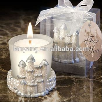 wedding favors cheap bulk castle wedding favors candles wholesale buy wedding