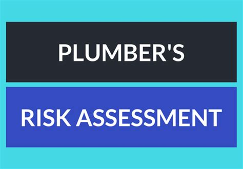 Plumbing Risk Assessment by Freelance Safety Course Services Fivesquid