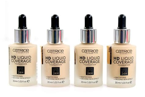 hd review catrice hd liquid coverage foundation innenaussen