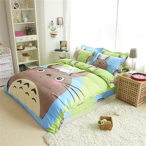 totoro bed set online get cheap totoro bed aliexpress com alibaba group
