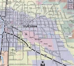 tuscon arizona map a trip through saguaro national park