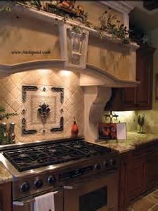 Kitchen Medallion Backsplash Kitchen Backsplash Tile Murals By Linda Paul Studio By