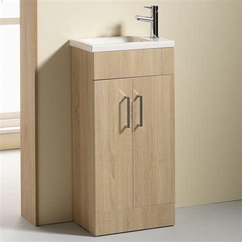 slimline bathroom vanity unit allbits eden 50 slimline vanity unit basin with tap