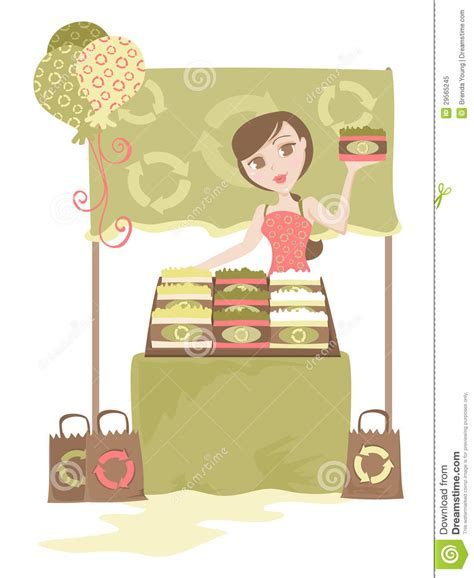 Selling Handmade Soap - selling handmade soap stock image illustration of person