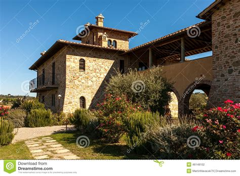 casa di casa di cagna della toscana fotografia stock immagine