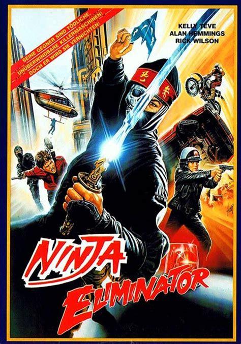 ninja film german german 80s vhs cover for ninja eliminator aka bionic