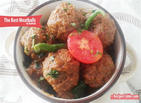 best meatball recipe the best meatballs you ll recipes table