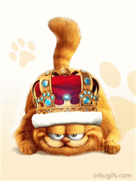 king garfield images  messages