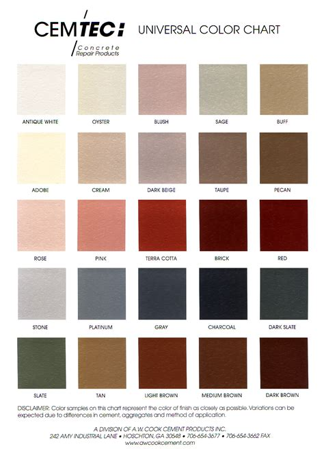 mortar color pin mortar color chart davis colors on