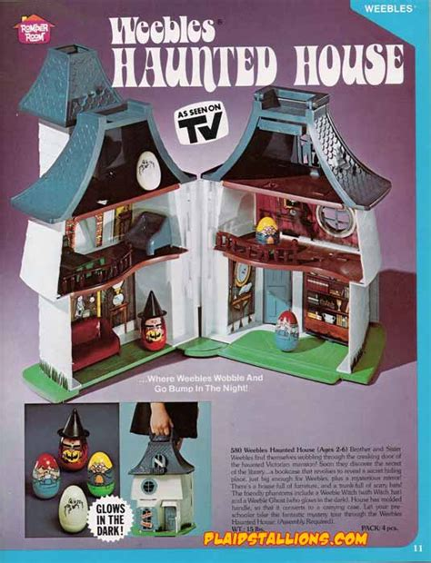 weebles haunted house hasbro toys 1976 catalog i weebles i weeble i plaidstallions com
