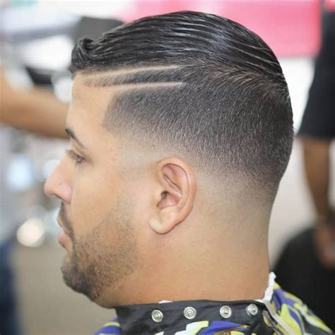 hair part with a line 35 stylish hard part haircut ideas choose yours