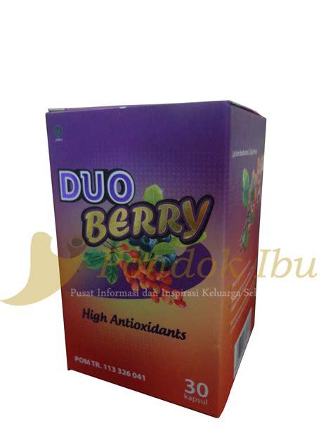 Suplemen Duo Berry duo berry untuk perawatan tubuh dari dalam