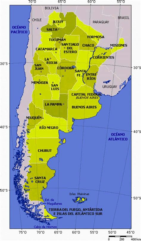 argentina political map large size detailed argentina political map travel