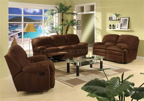 chocolate brown living room chocolate brown microfiber contemporary reclining living room