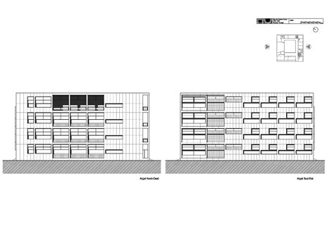 Residential Floor Plans And Elevations gallery of ad classics casa del fascio giuseppe