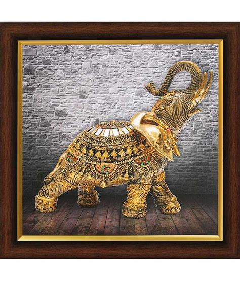 Snapdeal Home Decor by Saf Textured Vastu Painting With Wooden Frame Buy Saf