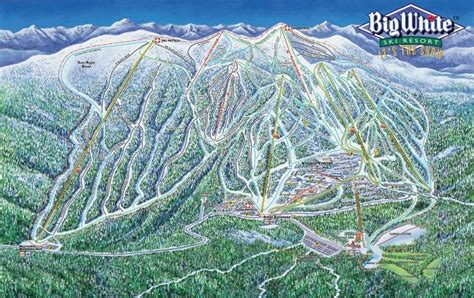 big white big white ski resort map