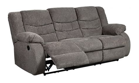 Gray Recliner Sofa Tulen Gray Reclining Sofa 9860688 Reclining Sofas Bb S Furniture Mattress Gallery