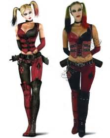 Harley quinn arkham city costume by siqclothing on etsy