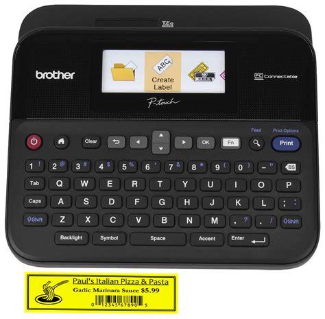 Pt 2730 Barcode Printer pt d600 pc connectable p touch label maker color