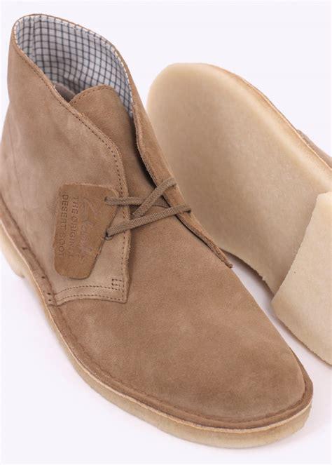 clarks originals suede desert boot oakwood