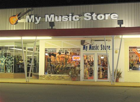 A In Store retail store okc musicbox