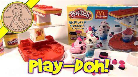 Play Desserts Shop play doh mcdonald s mcflurry dessert playshop 2003 hasbro