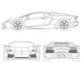 Lamborghini Aventador Blueprint The Gallery For Gt Lamborghini Blueprint