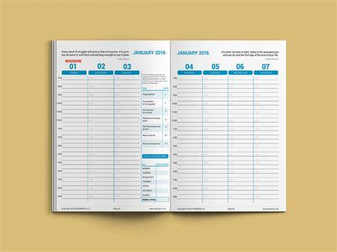 Agenda Organizer Hokita Professional nemo pro 2016 weekly planner alias viper