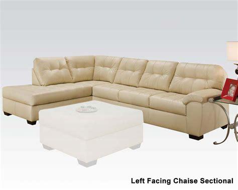 Organic Sectional Sofa Sectional Sofa Shi By Acme Furniture Ac50625