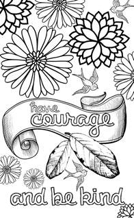 positive coloring pages quotes quote addicts