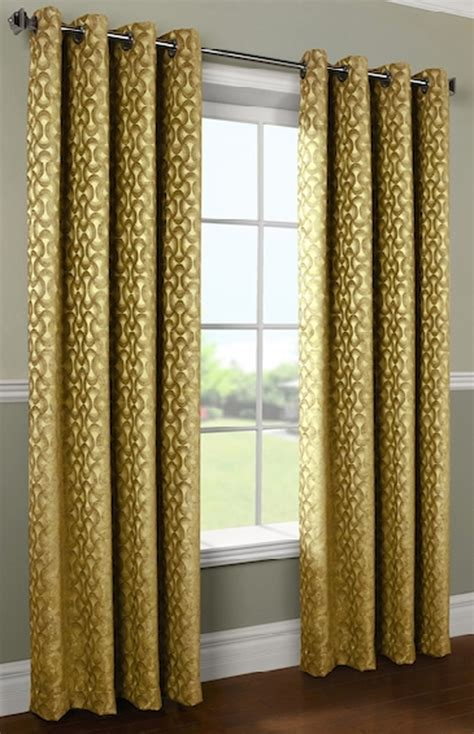 rope curtains rope chenille grommet top curtain panel
