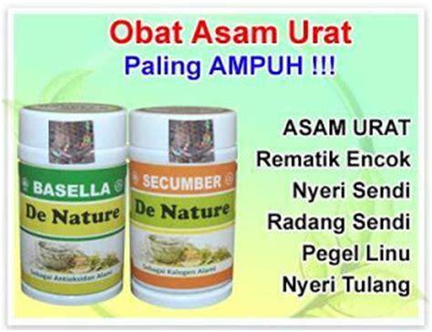 De Nature Obat Gout Alami Uh Aman obat asam urat resep dokter herbal herbal de nature