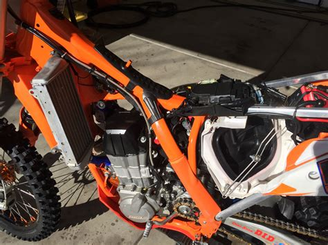 Ktm Factory Location 2013 Ktm 450 Sxf Factory Edition One Of A