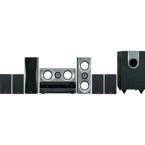 onkyo ht sr800 7 1 channel home theater system black ht