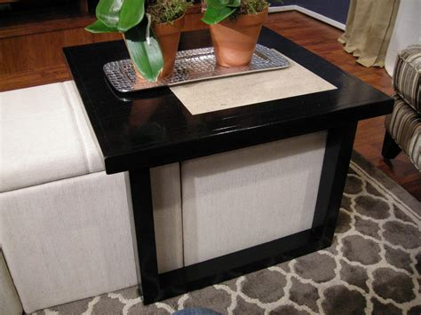 table over ottoman 22 clever ways to repurpose furniture diy home decor and