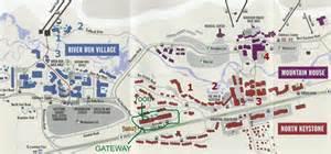map of keystone colorado facilities