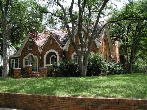 Brick House Houston by Brick Tudor Revival Historic West Houston Tx
