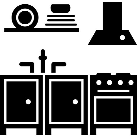 kitchen icon kitchen furniture icons free download