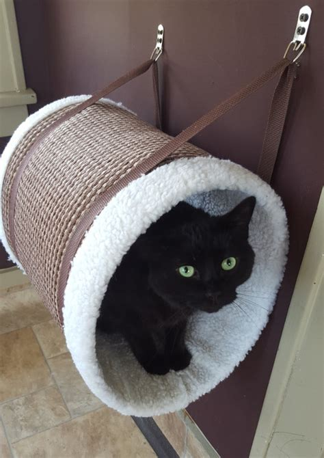hanging cat bed caramel hanging cat tunnel cat perch cat bed cat house