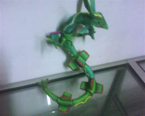 Rayquaza Papercraft - rayquaza by rafex17 on deviantart