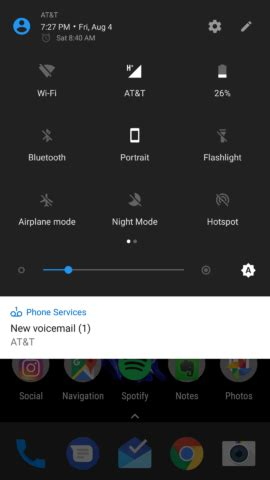 android voicemail notification how to get rid of that annoying voicemail icon when you no voicemail android
